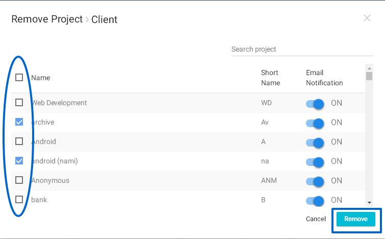 Remove Project-4