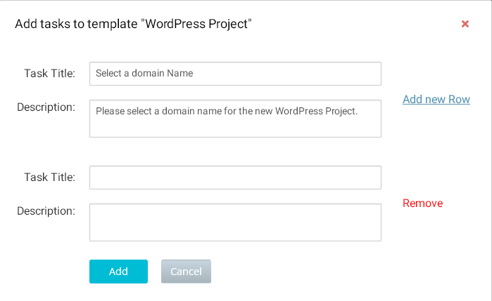 How to create a Project Template? | Orangescrum Helpdesk