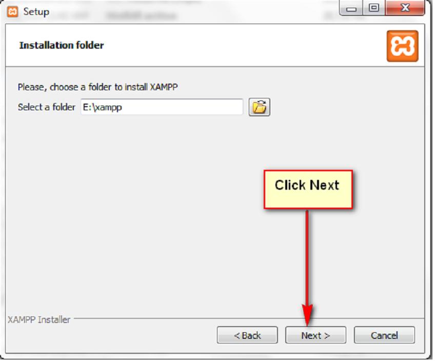 Xampp for Orangescrum