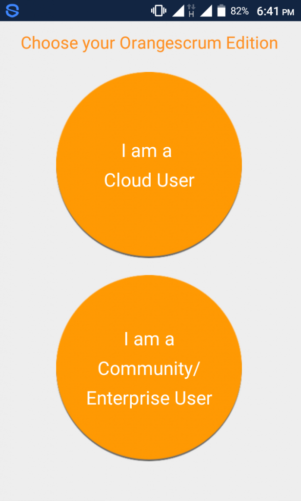 Orangescrum mobile app edition