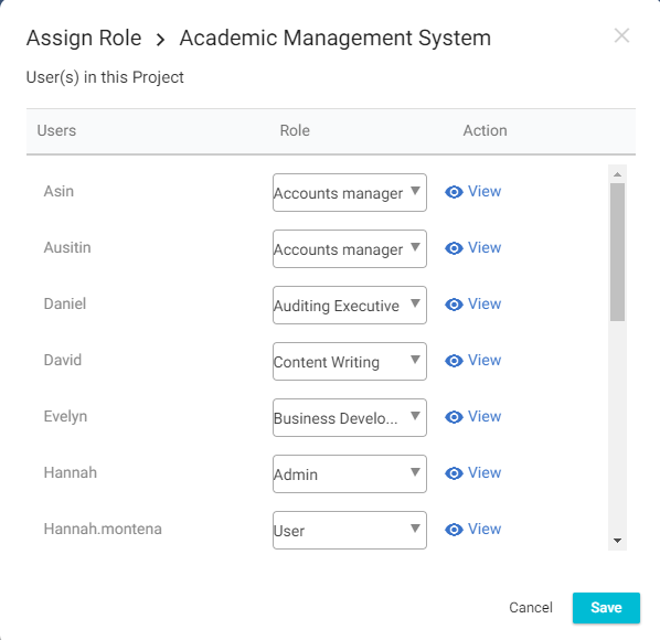 Assign role