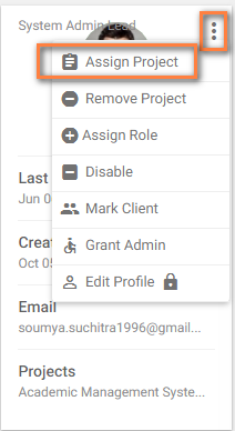 Assign project