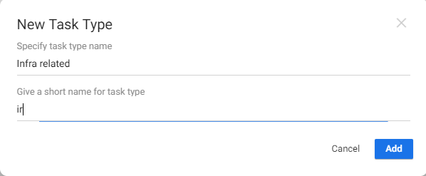 New task type