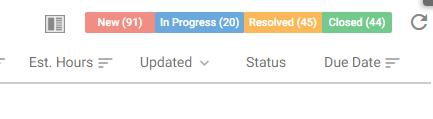 Orangescrum Task List Status