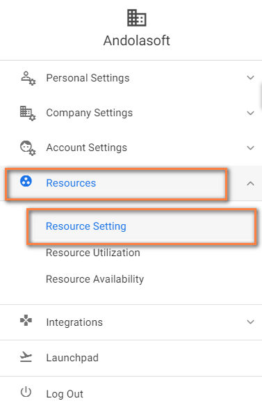 Resource Setting