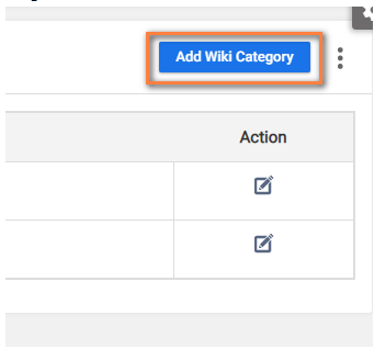 Add Wiki Category