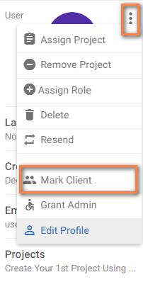 Mark Client
